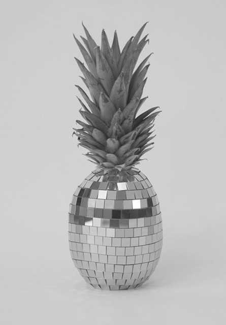 Disco Pineapple by Sarah Illenberger