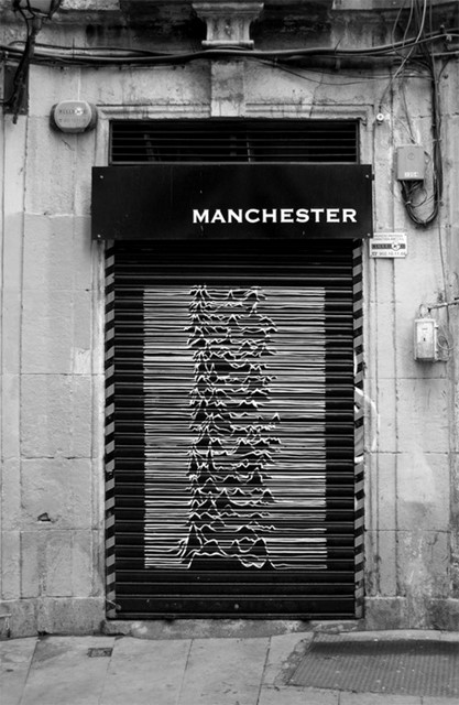 Joy Division Graphic, Manchester