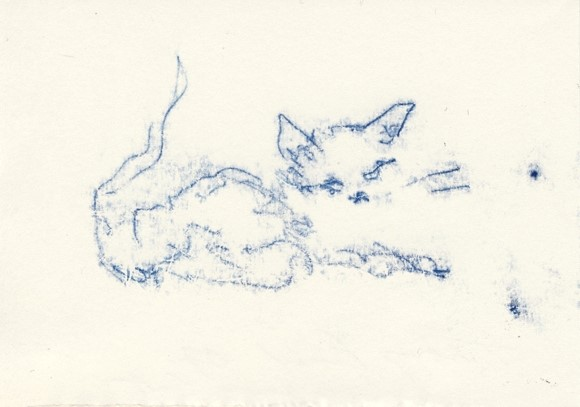 Tracy Emin, Super Loving Cat, 2007