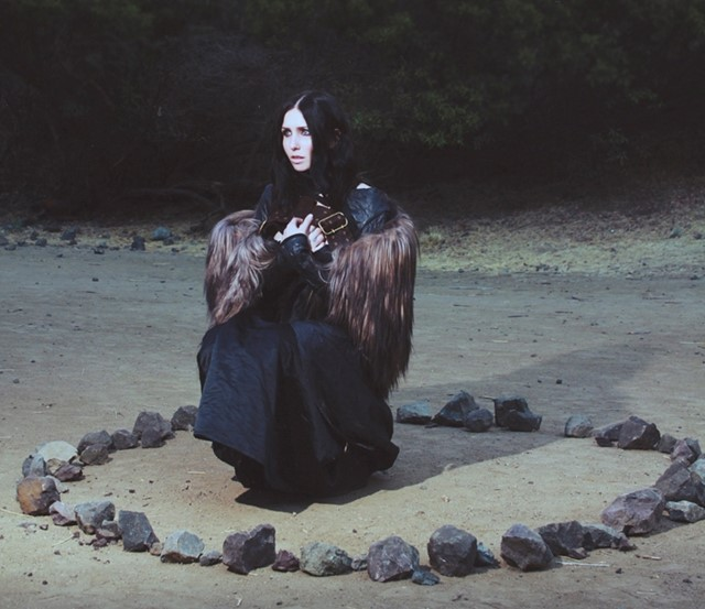 Chelsea Wolfe best thing to happen to music + fashion in years