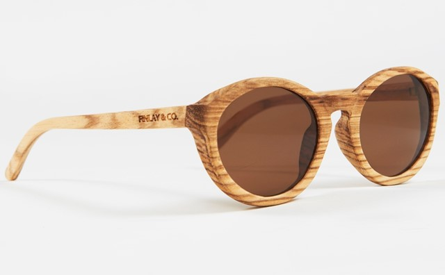 Bosworth Zebrano Sunglasses