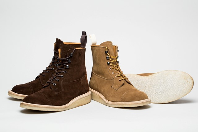 Norse Projects x Tricker's: Two Tone Super Boots