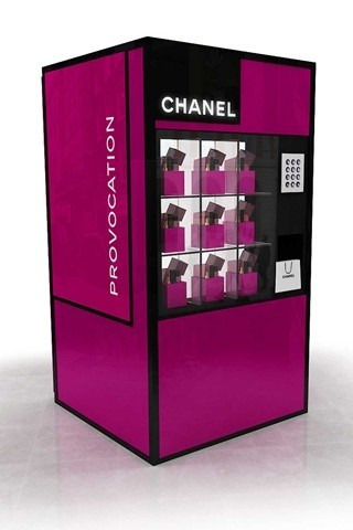 Chanel Fashions Night Out 2012 Vending Machine