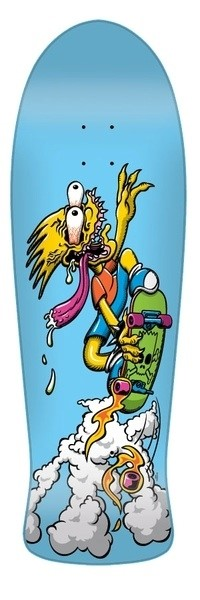 Bart Simpson Slasher Deck by Santa Cruz Skateboards