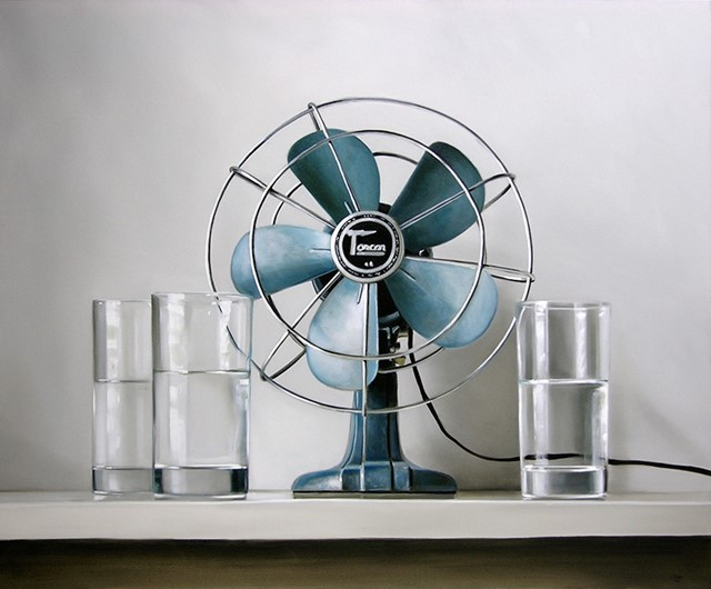 Vintage Electric Fan & Water, 2009