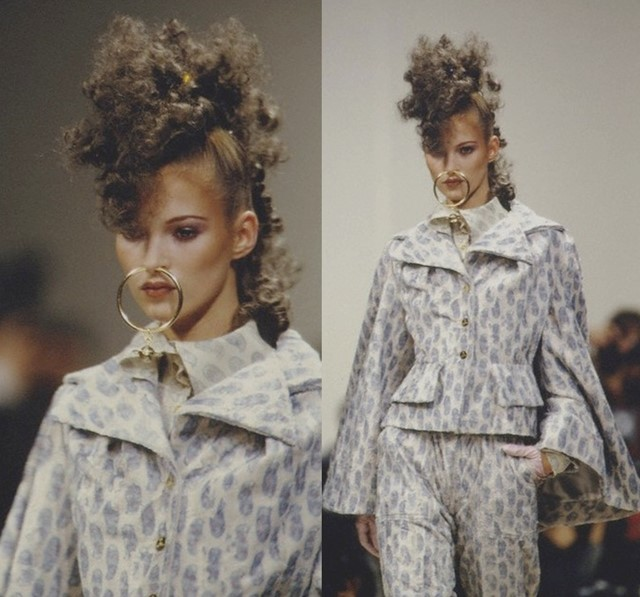 KATE MOSS, VIVIENNE WESTWOOD AW93