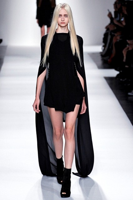 HIKED UP SKIRTS @ ANN DEMEULEMEESTER SS2013 SHOW