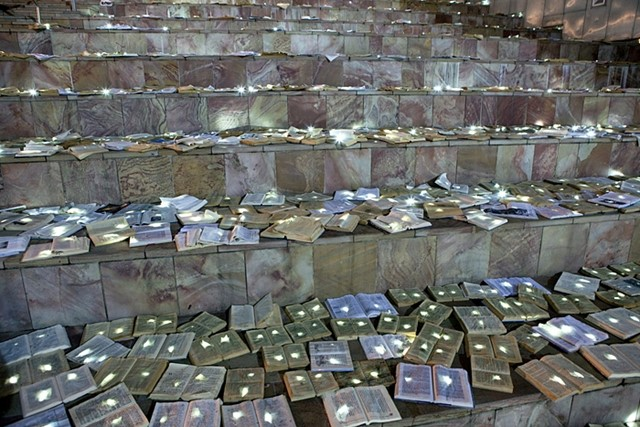 The Attack of 10,000 Glowing Books