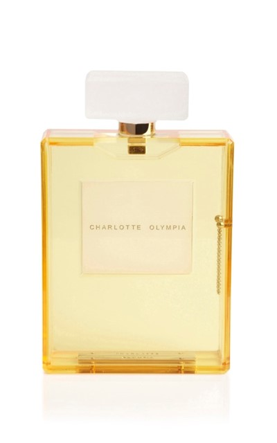 Charlotte Olympia Yellow Scent Clutch