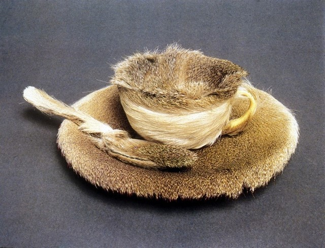 Meret Oppenheim's Fur Cup and Saucer