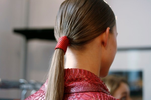 Backstage at Jitrois S/S 13.