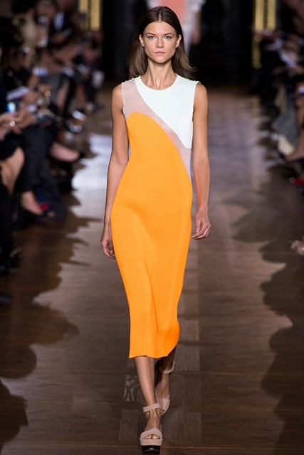 Stella McCartney yellow dress