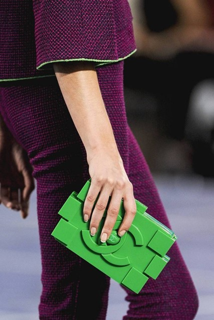 Chanel LEGO-inspired clutch S/S13