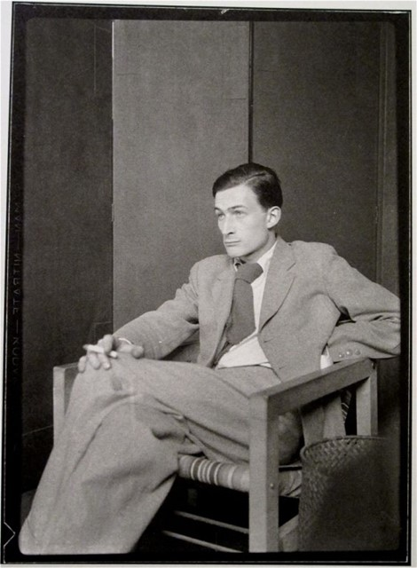 Balthus by Man RAY