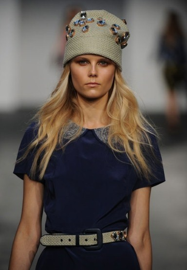 Henry Holland S/S13 beanie