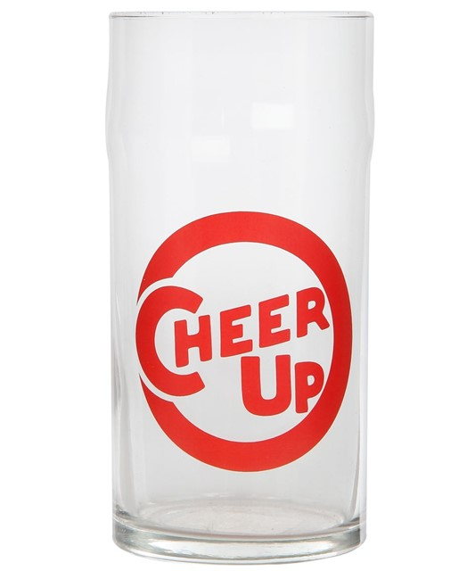 Cheer Up glass