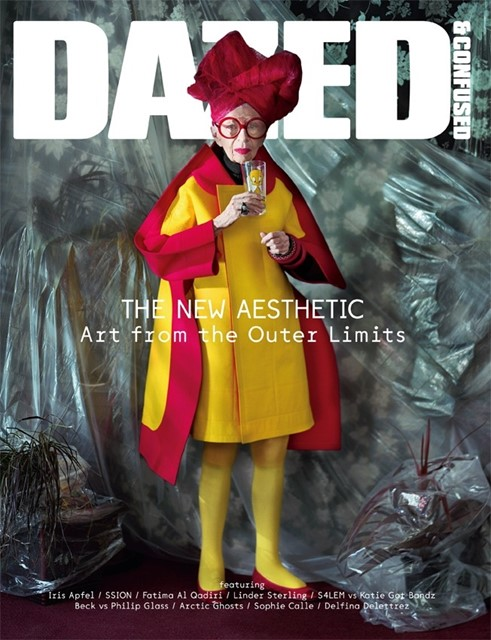iris apfel for dazed & confused