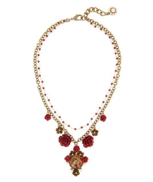 Dolce & Gabbana Virgin Mary Necklace