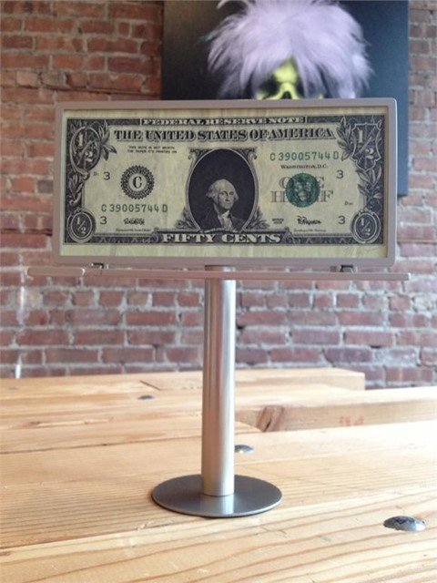 HALF DOLLAR BILL BY RON ENGLISH