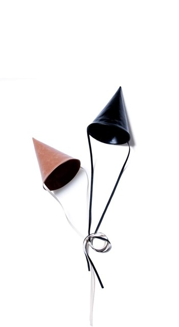 Leather Party Hats