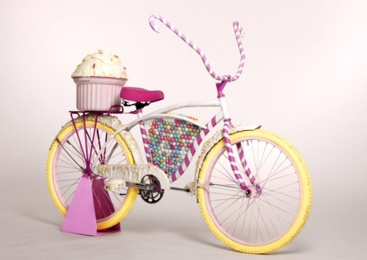 Candy Bike by Britta Hope