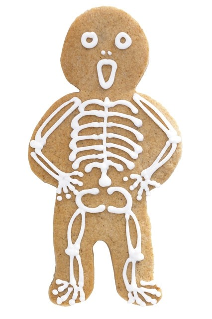 Spooky Gingerbread Man