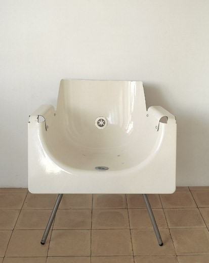 Recycled Bathtub Chair