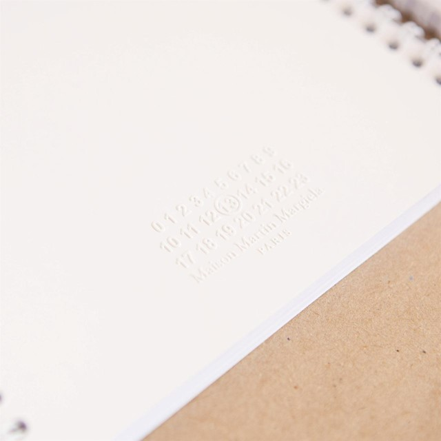 Claustrophobic notebook by Maison Martin Margiela