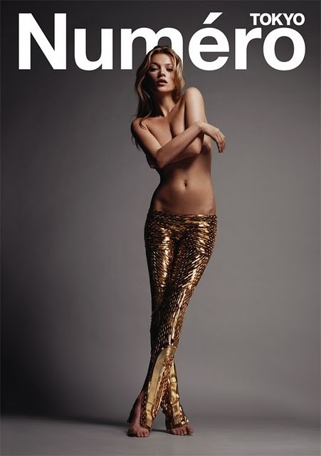 Kate Moss in Balenciaga by Nicolas Ghesquiere