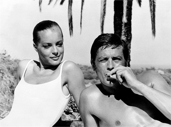 Alain Delon in La Piscine, 1969