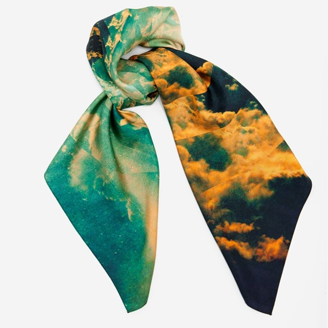 Cloud Scarf by Leif Podhajsky