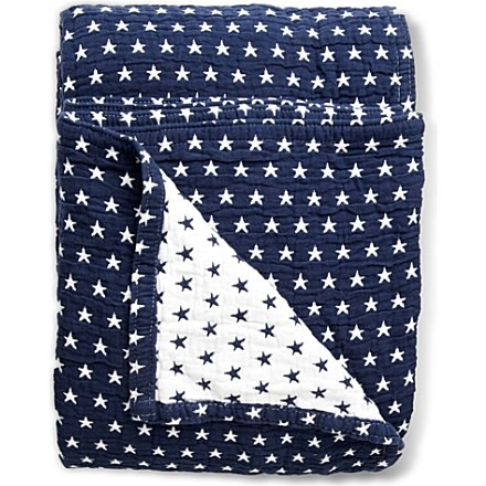Star-spangled bedspread by Lexington