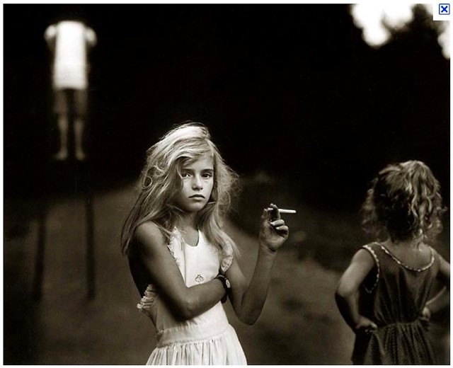 Candy Cigarette, 1989, Sally Mann