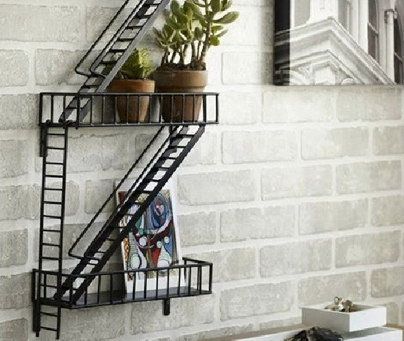 Fire Escape Shelving Unit
