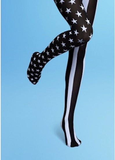 STARS AND STRIPES TIGHTS BY HAPPY SOCKS