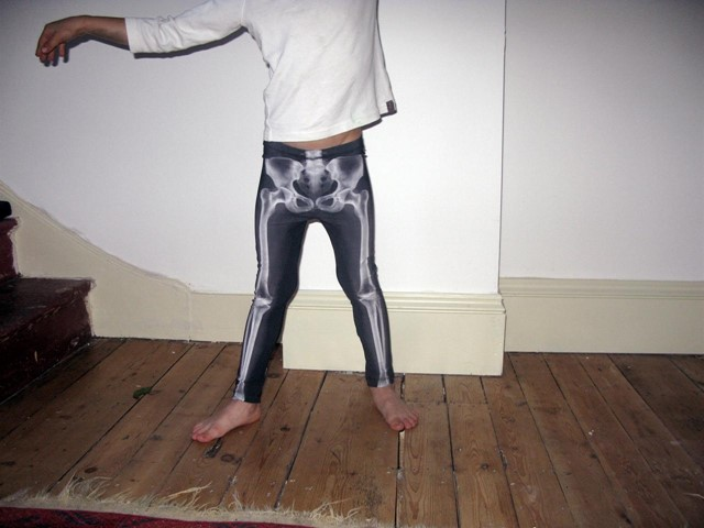 Leg x-ray leggings by La Loi