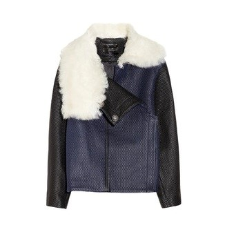 Proenza Schouler Shearling Collared Jacket