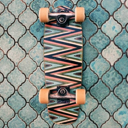ZigZag Skateboard by Folklands