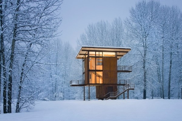 Olson Kundig Architects' Delta Shelter