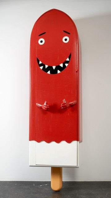 OLAF BREUNING MELTING POPSICLE COFFIN