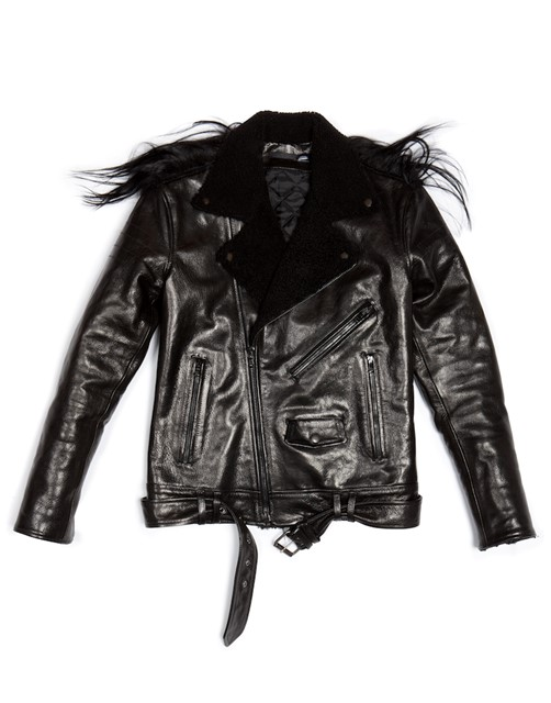 Leather jacket by BLK DNM