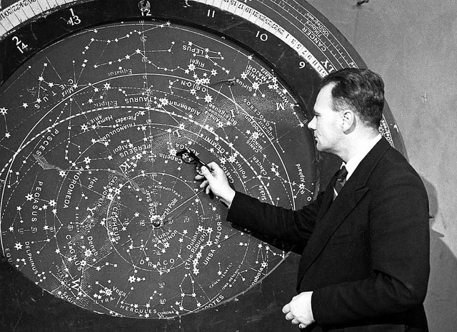 Sir Patrick Moore on The Sky at Night