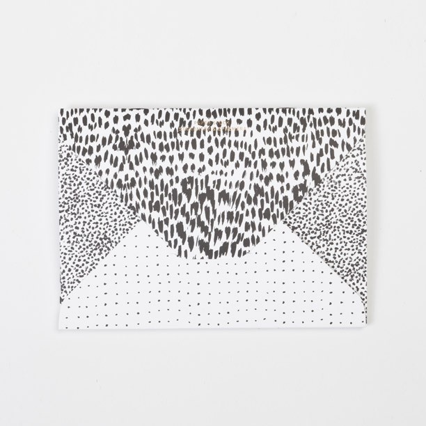 Animal / Crayon-dot / Spot Diamond Flap Notebook