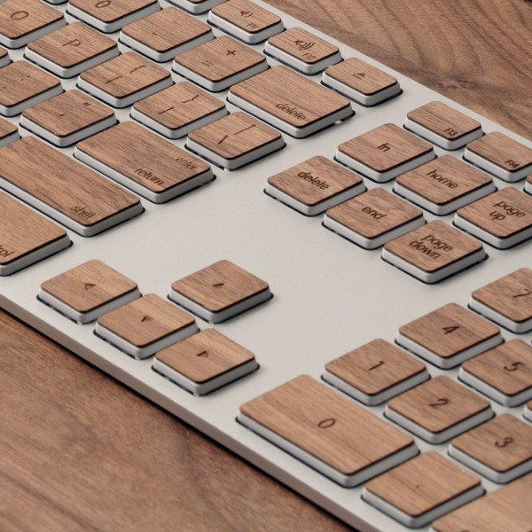 Lazerwood Keys for Apple Keyboard