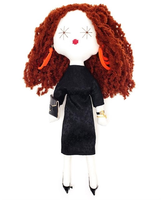 Laloushka collectable Grace Coddington doll