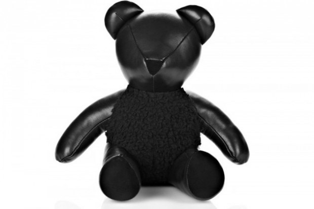 ALEXANDER WANG LEATHER TEDDY BEAR