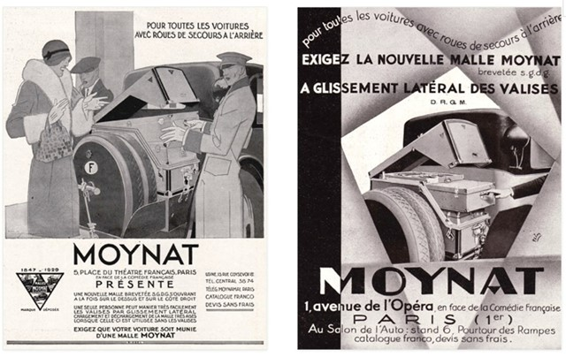 Moynat Paris | Vintage Advertising, 1927