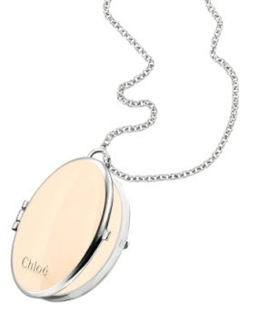Chloé necklace & solid perfume