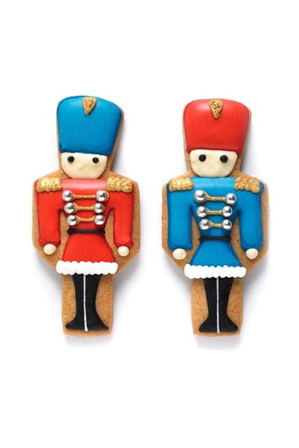 Toy Soldier biscuits
