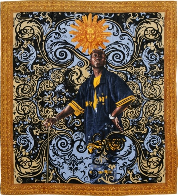 KEHINDE WILEY TOWEL